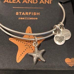 Starfish Alex & Ani Bracelet